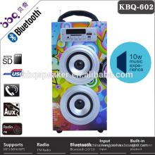 Guangdong wireless bluetooth professional speakers with FM radio