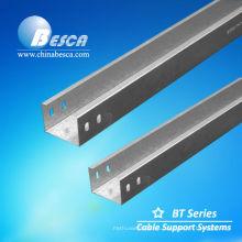 fabricante de canal de cable eléctrico de acero galvanizado por inmersión en caliente (UL, cUL, NEMA, CE)