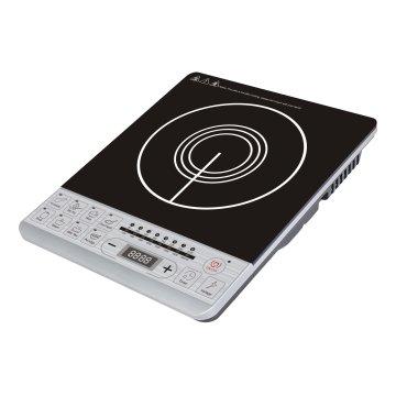 Bouton poussoir Cuisinière à induction à grande taille avec fonction vocale