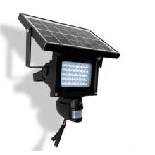 Câmera térmica exterior impermeável da lâmpada solar, câmera de WIFI com detecção de PIR
