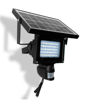 Solar Powered CCTV IP PIR Lamp HD Camera Wireless with LED Floodlight