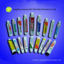 Aluminium-Kosmetik Röhren medizinische Schläuche Salbe Röhren