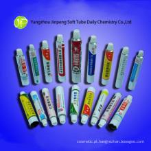 Tubos de alumínio cosméticos medicinais tubos tubos de pomada