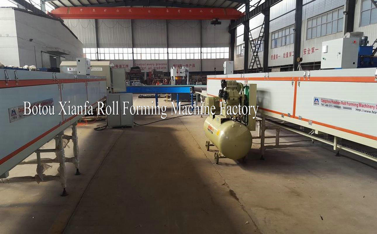 colored stone coated roofing tile forming machine
