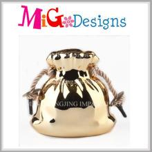 Marketing Stunning Wooden Coin Banks Ceramic Bag Money Box