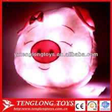 Китай завод свиньи светодиодные подушки красочные блестящие светодиодные подушки