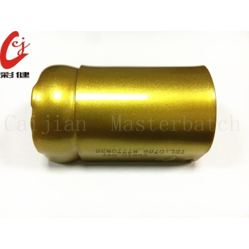 Gold No Spraying Masterbatch Granulat