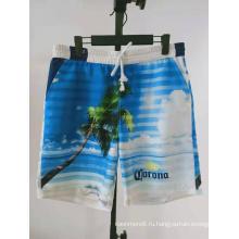 печатные летние пляжные мужские шорты для плавания