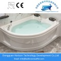Free standing jetted soaking tub