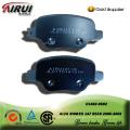 semi-metallic brake pad for ALFA ROMEO 147 REAR 2005-2002