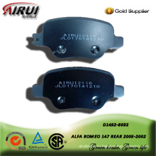 semi-metallic brake pad for ALFA ROMEO 147 REAR 2005-2002