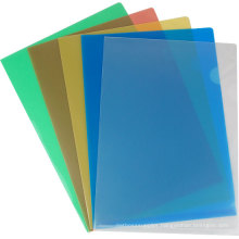 Clear colorful Lever File Folder