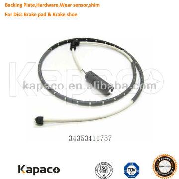 Capteurs de frein à disque Kapaco 3435411757 pour plaquette de frein BMW, BENZ, RANGE ROVER, OPEL, VOLKSWAGEN