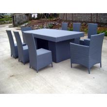 Cadeiras de mesa de jantar estilo americano alumínio