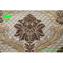 Poliéster jacquard rugas efeito tecido cortina (BS1305)