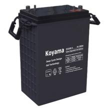 Batería solar de alta calidad del almacenamiento de la batería del gel de la batería del ciclo de la alta calidad 380ah 6V