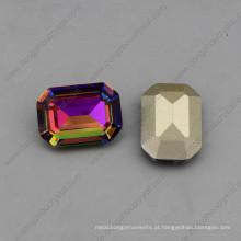 Octagon 10 * 14mm / 13 * 18mm de cristal jóias pedras soltas (dz-3007)