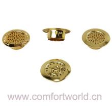 Estoma de latón dorado imitado para colchón espiráculo