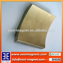 rare earth high quality Sintered neodymium/Rare Earth Flat Segment Magnet