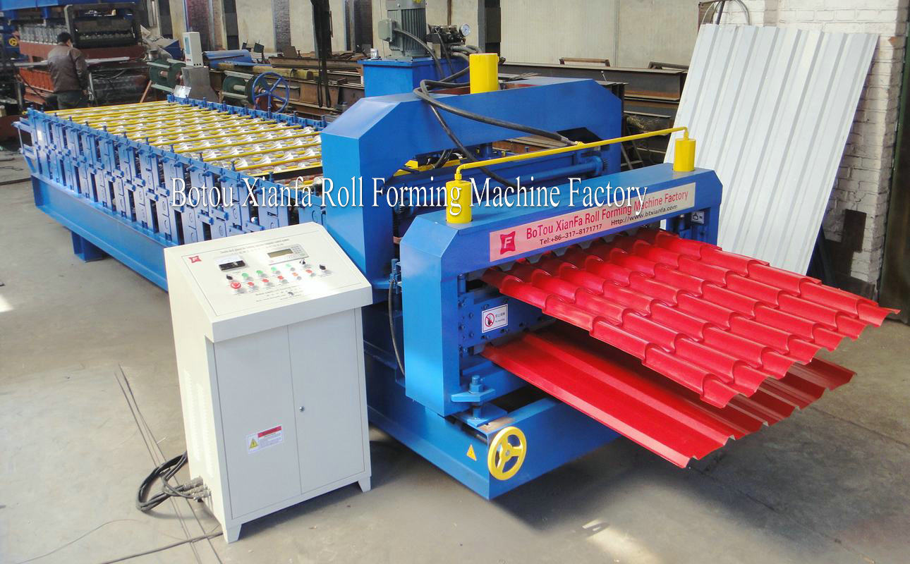 Double Layer Roof Machine