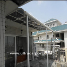 High Quality Carports Shelter with Aluminum Alloy Afram, Electronic Powder Coating Process for Surface