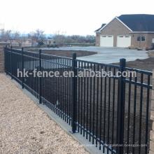 Alta qualidade e melhor preço galvanizado cerca de piquete de aço, pained painel da cerca de aço de zinco, cerca de tubo quadrado