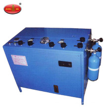 Oxygen filling pump for Oxygen breathing apparatus and compressed oxygen self-rescuer