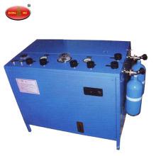 Кислородный заправочный насос для кислородного дыхательного аппарата и самоспасателя сжатого кислорода