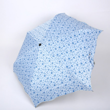 Mode unique 3 pliage parapluie Summer Rain