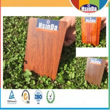 Efeito de madeira de imitação alta estável Revestimento de calor em pó Revestimento em pó