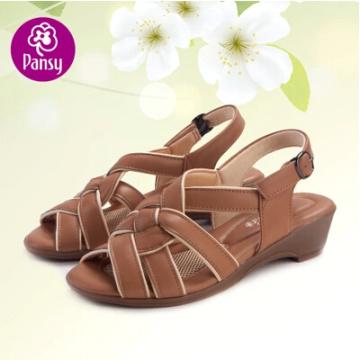 Анютины глазки комфорт обувь надлежащего сандалии летние высоту