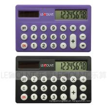 Dual Power cartão de crédito calculadora de tamanho (LC536)