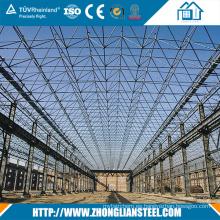 Edificio de acero de acero prefabricado del almacén de acero del taller