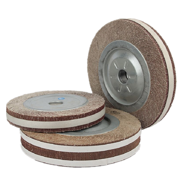 Thousand pages abrasive flap wheel