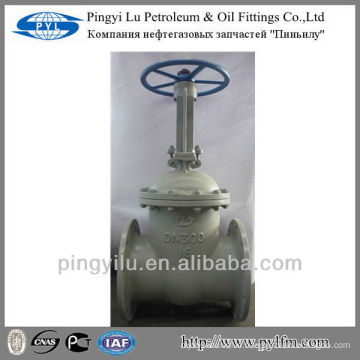 Carbon steel gost gate valve diameter 300 made in China