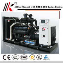 400KW GENERATOR SET WITH SDEC SC25G610D2 DIESEL ENGINE 500KVA GENSET