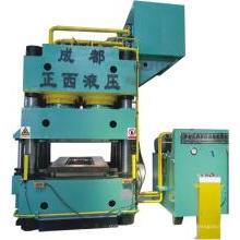 Machine de presse hydraulique de gaufrage de porte