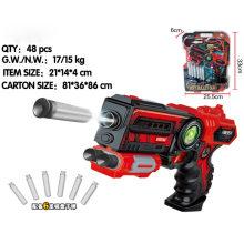 Luz suave bala militar pistola de bala pistola de juguete