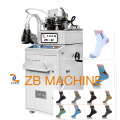 3.75 ebene computerisierte zwei feed ship socke maschine socke strickmaschine