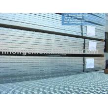 zinc coated steel floor bar grating