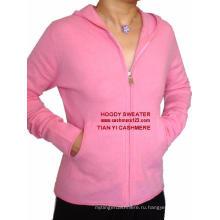 Комплект кашемировых свитеров с капюшоном