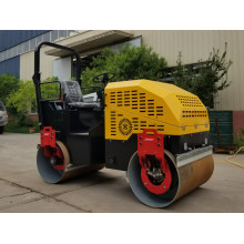 1000 kg Fahrt auf Vibration Road Roller