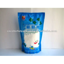 Stand up pouch bottom gusset Glucose packaging bags