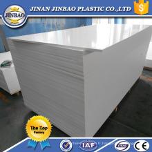 JINBAO 4x8 feuilles de mousse PVC BOARD / sintra panneau de mousse / celuka