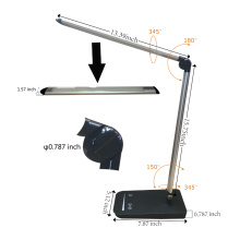 Doldável Dimmable Office Desk Lamp USB Carregamento