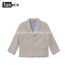 Los estudiantes de la chaqueta de algodón del niño niños uniformes formales de la escuela visten el vestido de lujo uniforme de la escuela