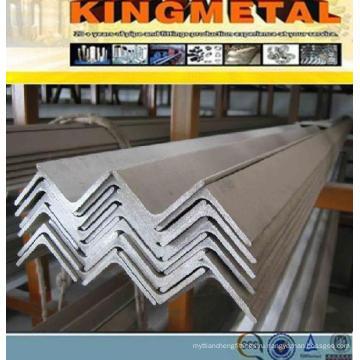 Длина 6м сталь q235 Производитель уголка Неравнополочного в Китае