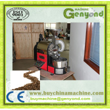 Tipo de mesa Coffee Bean Roasting Machine