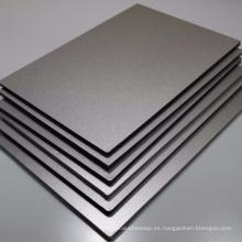 panel de aluminio compuesto del tamaño estándar del precio barato 3m m con el grado incombustible A1