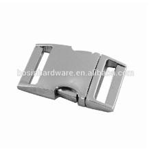 Fivela de liberação lateral de metal de alta qualidade da forma 3/8
